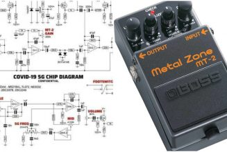 COVID-19 Conspiracy Theorists Thought Guitar Pedal Was a 5G Chip Blueprint