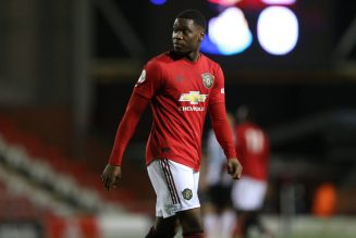 Derby County to sign Manchester United teenager Teden Mengi on loan