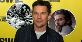 Ethan Hawke Cast as Villain Opposite Oscar Isaac in Marvel's Moon Knight