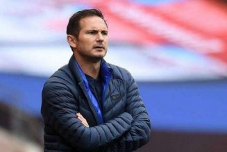 Frank Lampard under serious threat of being sacked as Chelsea boss