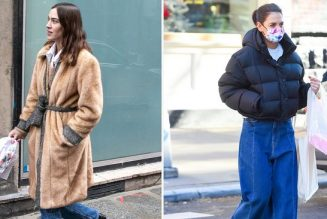 From Katie Holmes to VB, Not a Single Celeb Is Wearing Skinny Jeans Anymore