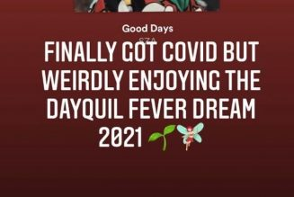"""Grimes Says She Has COVID-19: """"Weirdly Enjoying the DayQuil Fever Dream"""""""