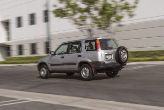 Honda Put a 248K-Mile '97 CR-V in Its Museum? Yes, and We Drove It