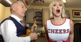"King Crimson's Robert Fripp and Wife Toyah Unveil Cheerleader Rendition of Billy Idol's ""Rebel Yell"": Watch"