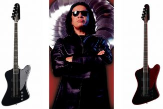 KISS' Gene Simmons and Gibson Team for New G² Line of Electric Guitars and Basses