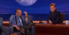 Larry King Once Told Conan O'Brien He Wanted His Body Frozen After He Died