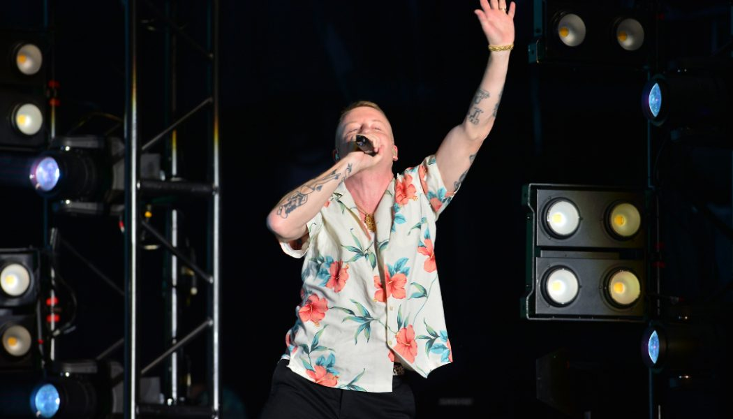 """Late As Hell Macklemore Airs Out Cheeto Jesus & MAGA Nation In """"Trump's Over"""" Freestyle"""