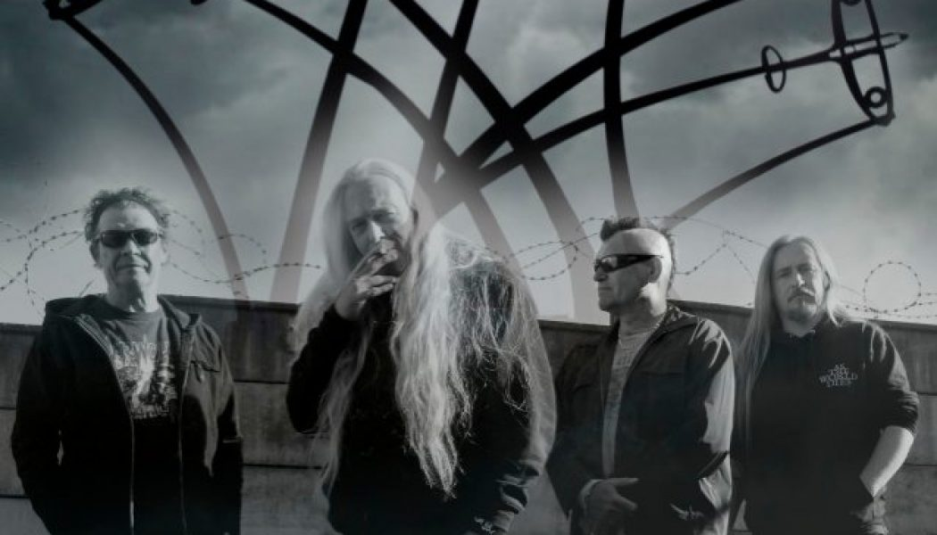MEMORIAM Feat. BOLT THROWER And BENEDICTION Members: 'Onwards Into Battle' Lyric Video
