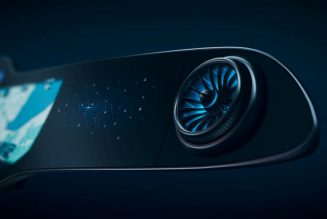 Mercedes-Benz Unveils 56-Inch Hyperscreen Display For EQS Electric Car [Video]
