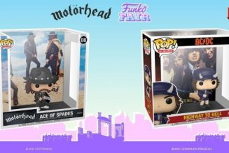 MOTÖRHEAD's 'Ace Of Spades', AC/DC's 'Highway To Hell' Funko 'Pop! Albums' Figures Coming Soon