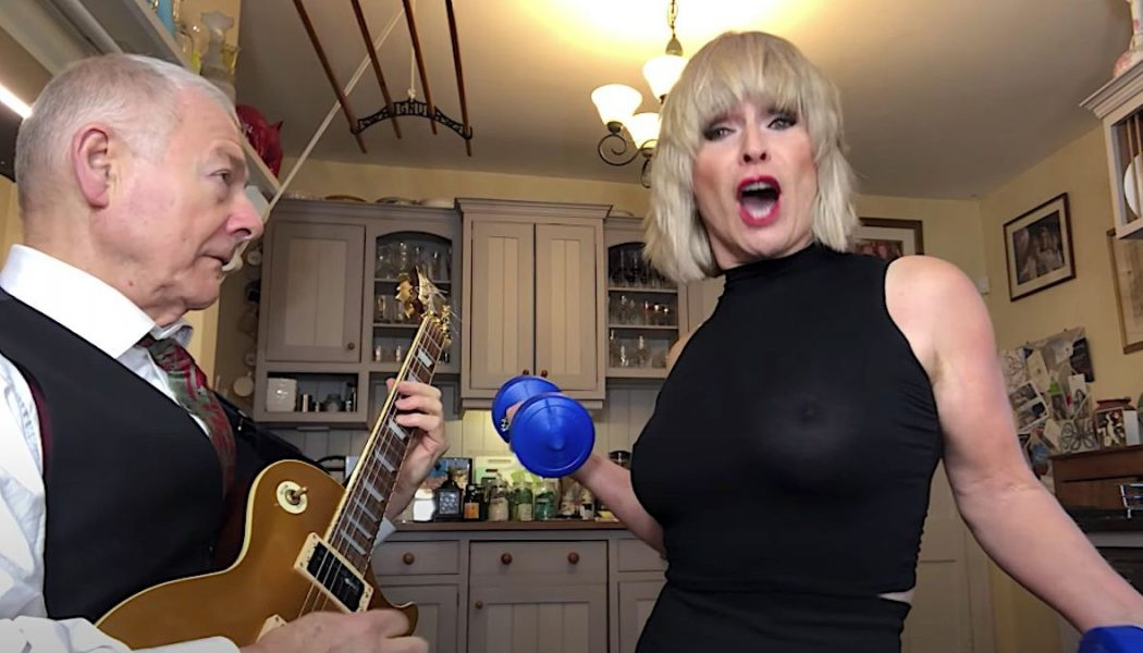 """Robert Fripp and Toyah Turn Guns N' Roses' """"Welcome to the Jungle"""" into a Serpentine Workout: Watch"""