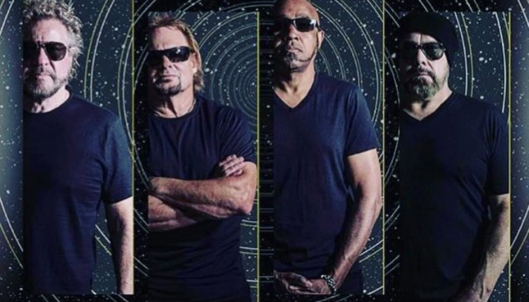 SAMMY HAGAR & THE CIRCLE Release Official Music Video For Cover Of DAVID BOWIE's 'Heroes'