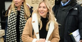 Sienna Miller Just Wore the Ultimate London Lockdown Outfit