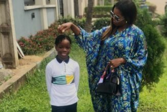 Stop sending my son nudes – Wizkid's first babymama cries out
