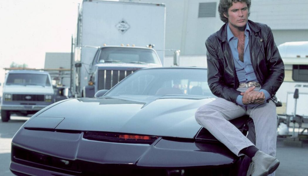 The Hoff's Personal KITT Is Up for Auction, and It Ain't Cheap