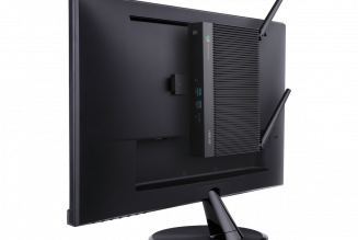 The new Asus Fanless Chromebox could easily be mistaken for a wireless router