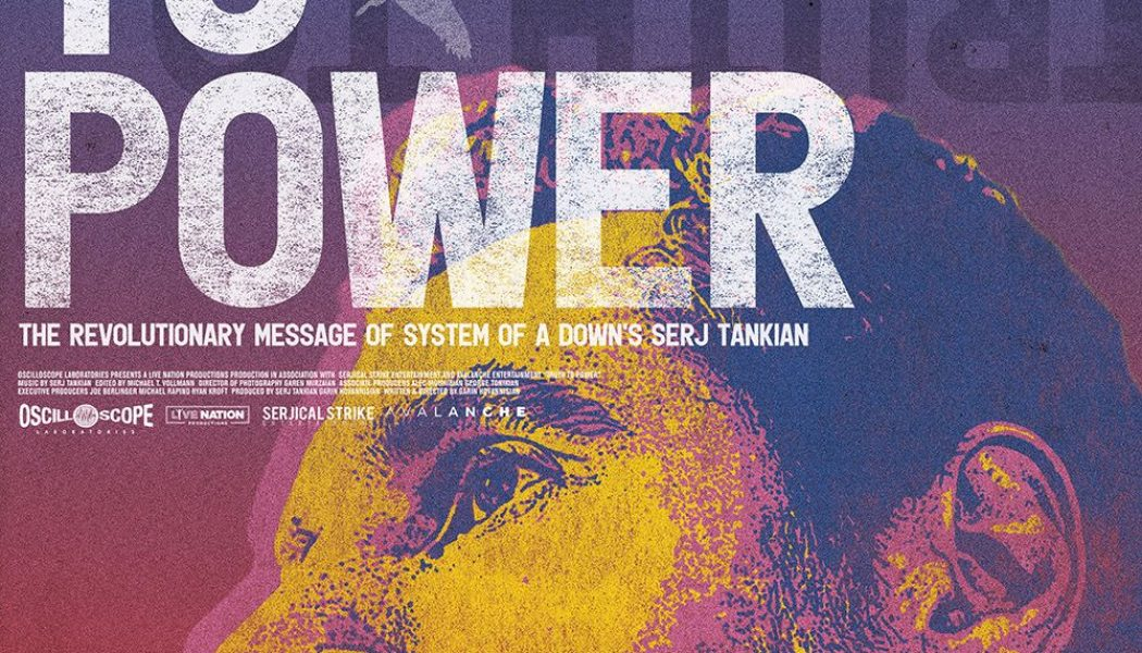 Trailer Unveiled for Upcoming Serj Tankian Documentary Truth to Power: Watch