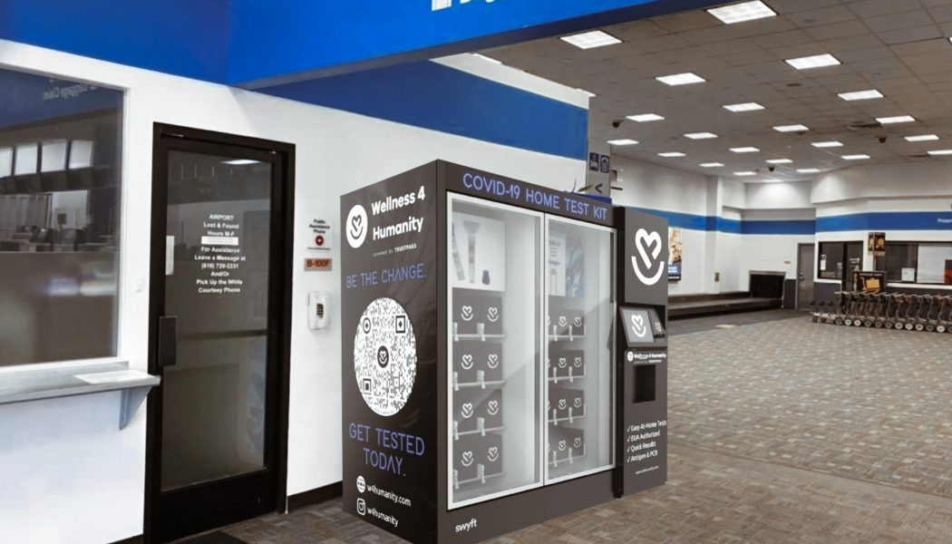 Vending Machines With COVID-19 Test Kits are Coming to New York City