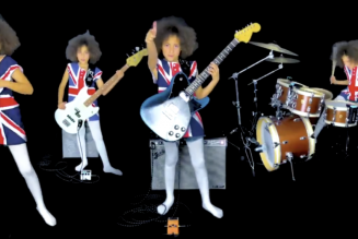 Watch Nandi Bushell Cover Blur's 'Song 2′ in a Union Jack Outfit