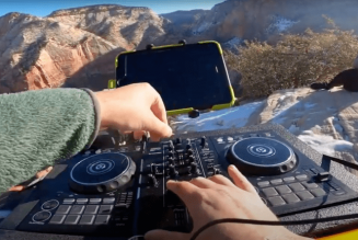 Watch This DJ Mix While Hiking Utah's Deadly Angels Landing Trail
