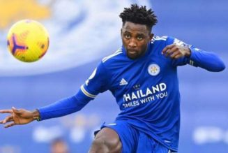 Wilfred Ndidi ruled out of Leeds clash