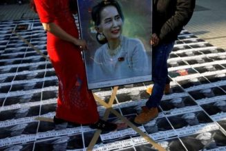 Anti-coup protests ring out in Myanmar's main city