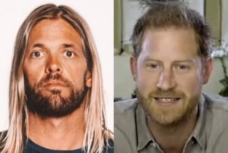 FOO FIGHTERS' TAYLOR HAWKINS Recalls Getting Playfully Slapped By PRINCE HARRY