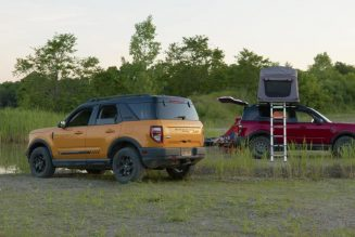 Ford Bronco Sport's Accessory Packs Optimize the SUV for Biking, Camping, Boating, and More