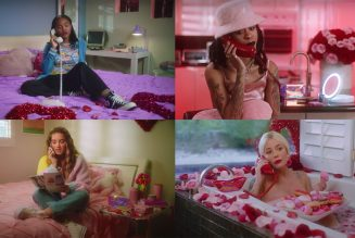 Halsey Goes Full Regina George With Rico Nasty, Chris Mintz-Plasse & More in 'Anti-VDay' Makeup Ad