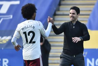 'He was really good': Mikel Arteta praises Arsenal attacker after Leicester City win