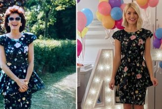 Holly Willoughby and Her Mum Wore the Exact Same Stylish Dress to Celebrate Their 40th Birthdays