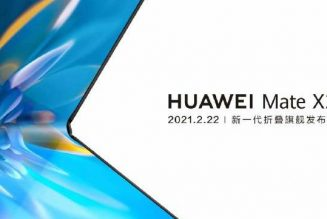 Huawei's next folding phone is coming on February 22nd