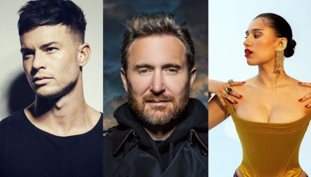 """Joel Corry Joins Forces With David Guetta and RAYE on Dance-Pop Track """"Bed"""""""