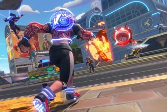 Knockout City is a new dodgeball game from the makers of Mario Kart Live