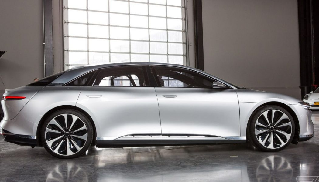 Lucid Motors is going public in a major SPAC merger