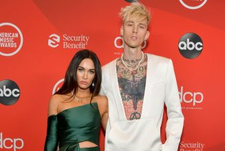 Machine Gun Kelly Says He Wears Megan Fox's 'Blood Around My Neck' on Valentine's Day