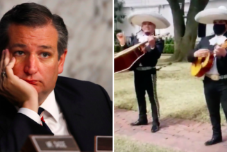 Mariachi Band Trolls Ted Cruz Outside His Houston Home
