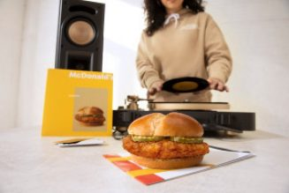 McDonald's Grants Early Access To New Crispy Chicken Sandwich & Limited-Edition Capsule