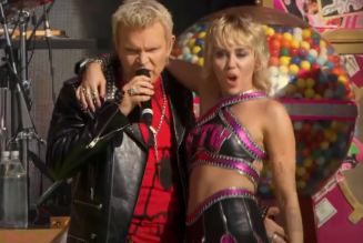 Miley Cyrus Teams With Billy Idol, Covers Nine Inch Nails, Bikini Kill at Super Bowl Pregame Show