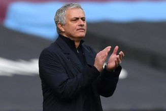 Report: 'Multiple dressing room sources' claim what Spurs players think of Mourinho's training