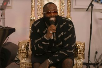 Rick Ross Performs Atop a Throne During NPR Tiny Desk (Home) Concert: Watch