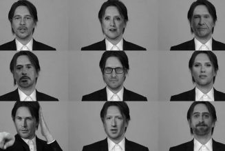 """Steven Wilson Transforms into Brad Pitt, David Bowie, Donald Trump, and More in """"Self"""" Video: Watch"""