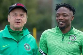 Super Eagles boss wants Ahmed Musa to sort out his career before Afcon qualifiers