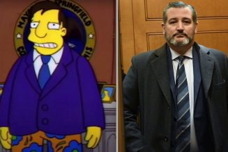 The Simpsons Predicted Ted Cruz's Tone-Deaf Vacation to Cancún