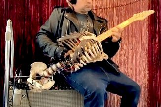 This Guy Turned His Dead Uncle's Skeleton Into a Fully Functional Guitar: Watch
