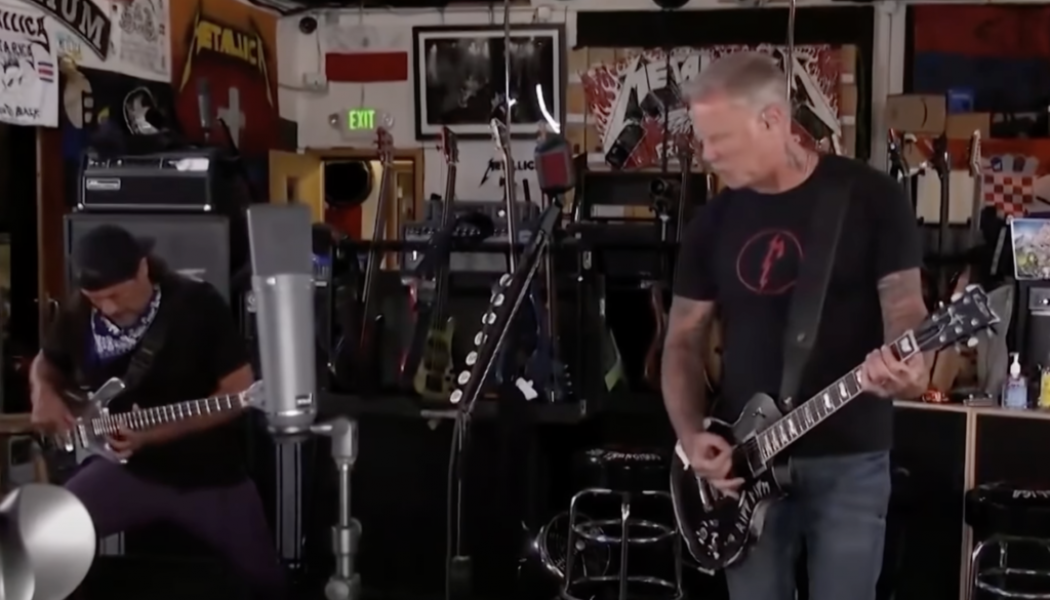 Twitch's DMCA Problem Shines as Official Channel Hilariously Censors Metallica Concert With 8-Bit Video Game Music