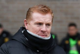 What happened to Celtic PLC's stock exchange share price right after Lennon's exit