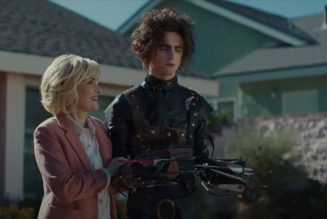 Winona Ryder Is Back With Edward Scissorhands' Son in New Super Bowl Ad: Watch