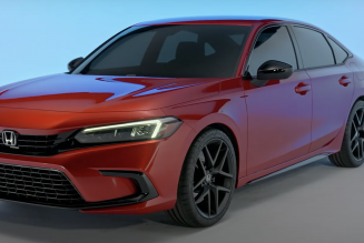 11th-Generation 2022 Honda Civic Appears Fully Uncloaked in Leaked Pics