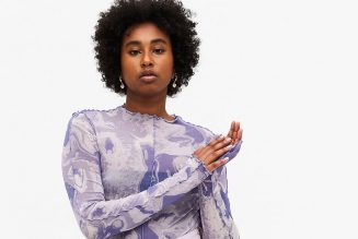 17 Printed Mesh Dresses and Sheer Tops to Channel Your Inner Style Rebel This Spring
